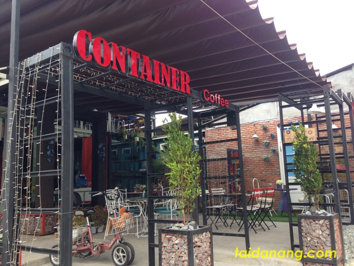container coffee Da Nang