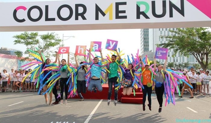 la vie color me run Da Nang