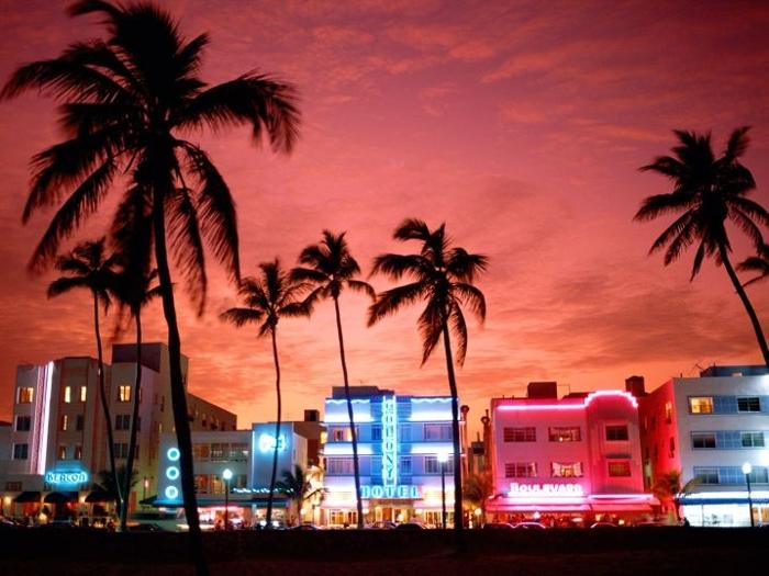 vung bien phia nam Miami