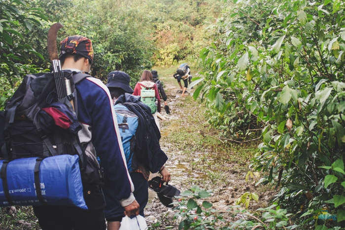 Kinh nghiem trekking lang Van 2017