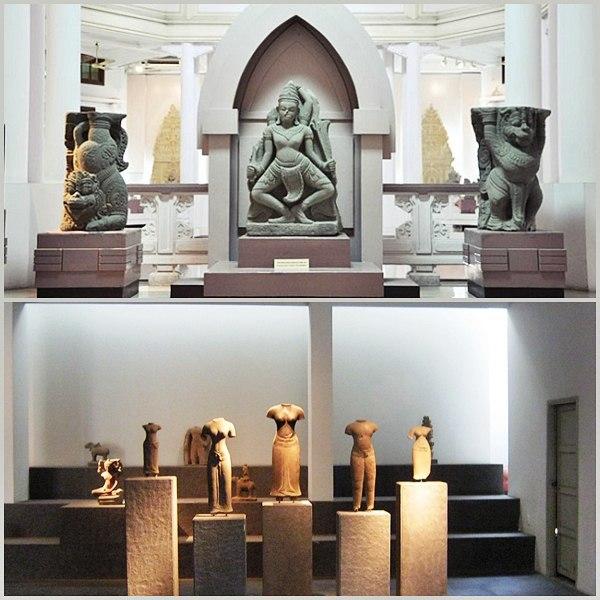 Hình ảnh bảo tàng điêu khắc nghệ thuật Chăm tại Đà Nẵng